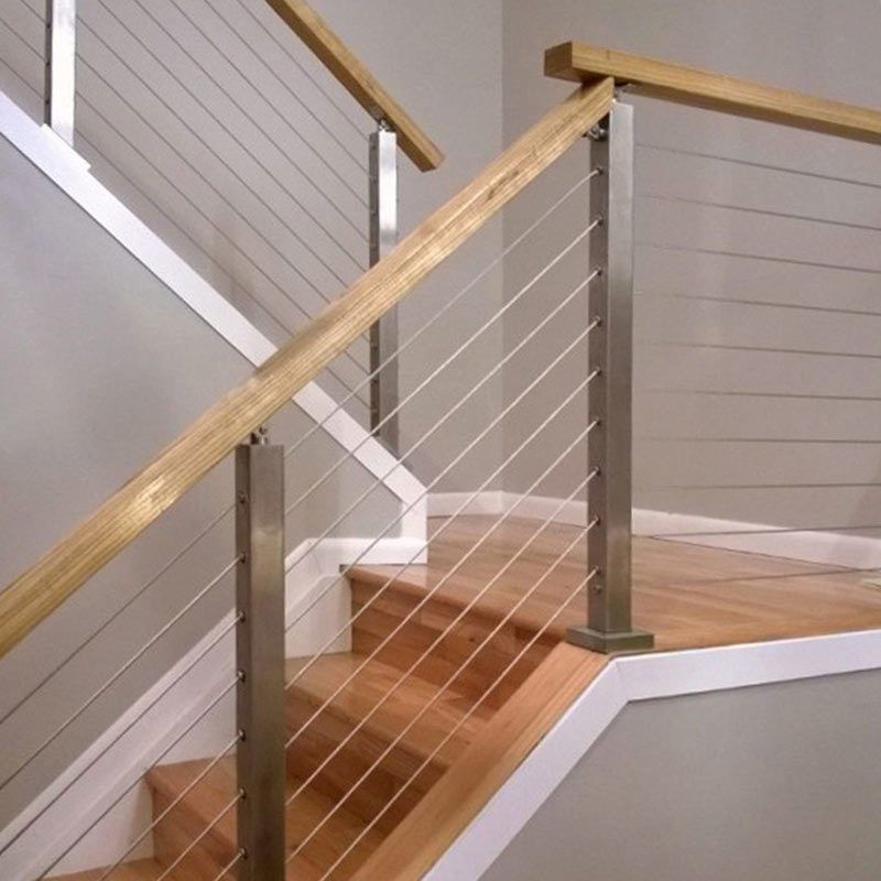 Best How To Install A Cable Railing System Diy Stair Railing 400 x 300