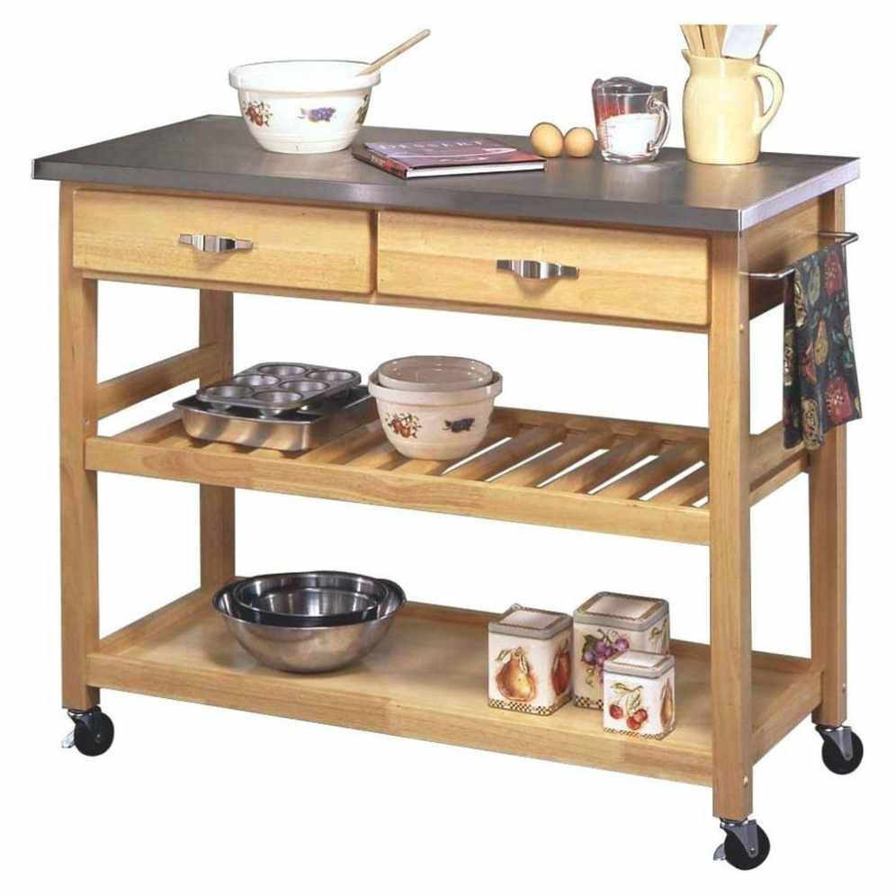Outdoor Mobile Kitchen Island - Home Decorating