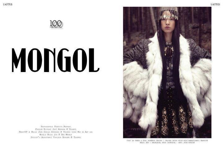 L´AUTRE magazine, editorial Mongol por jose Herrera, febrero 2012.