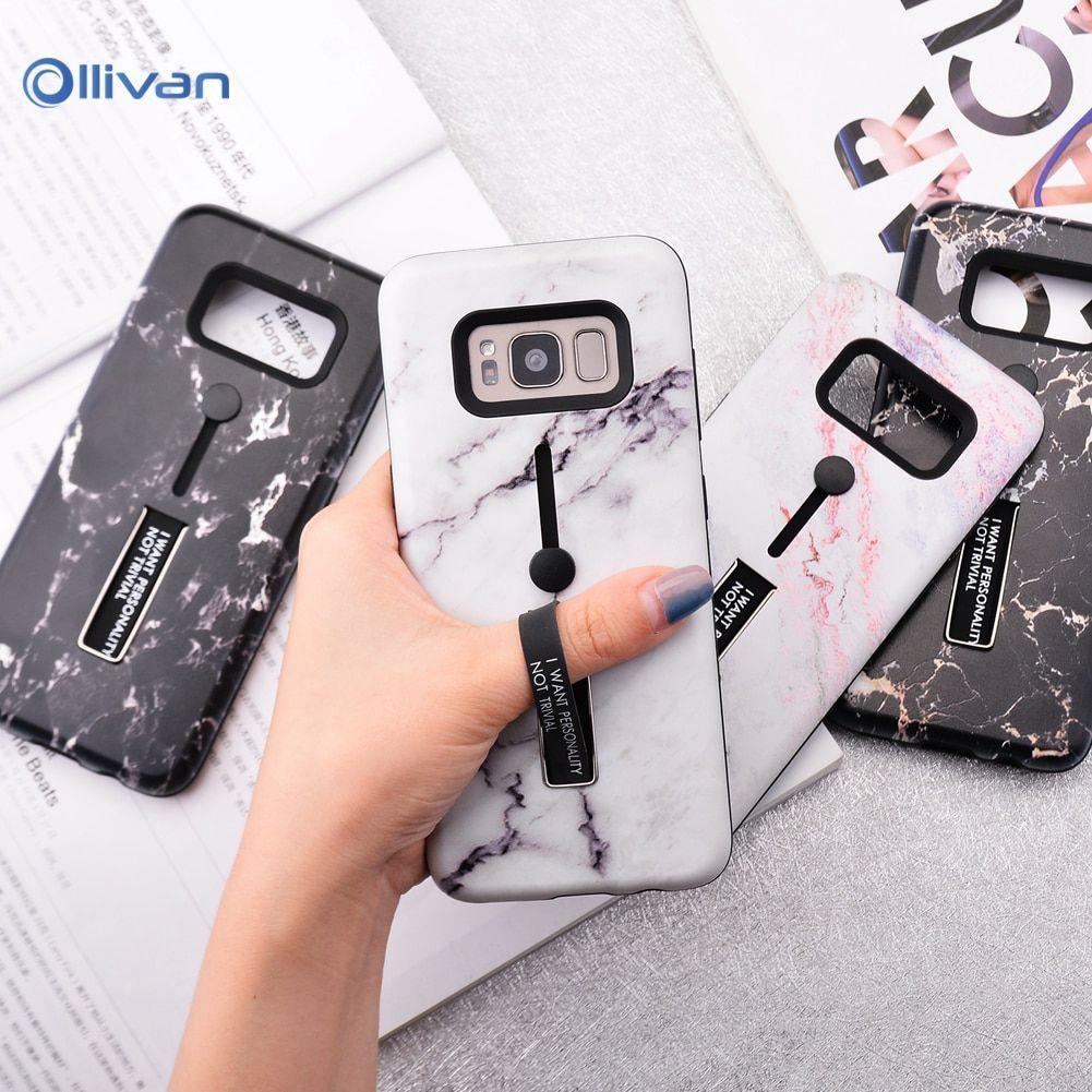 4db280179eb Encontrar Más Casos amueblada Información acerca de Mármol caja del  teléfono de silicona para Samsung Galaxy A7 A6 A8 J4 J6 J8 Plus 2018 S7  borde S8 S9 Plus ...