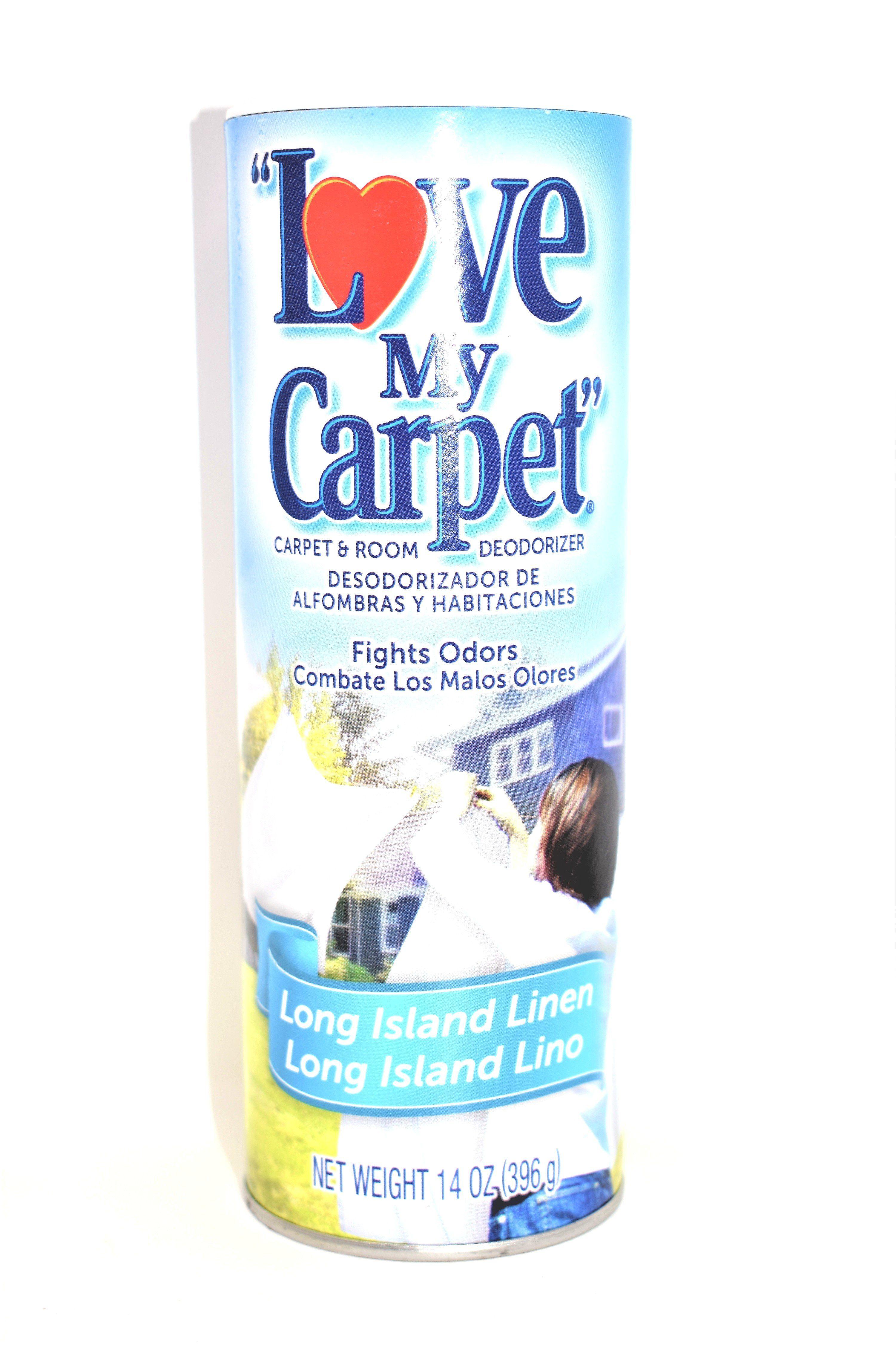 Love My Carpet Long Island Linen Carpet Room Deodorizer 14 Oz Room Deodorizer Deodorant Clean Scents