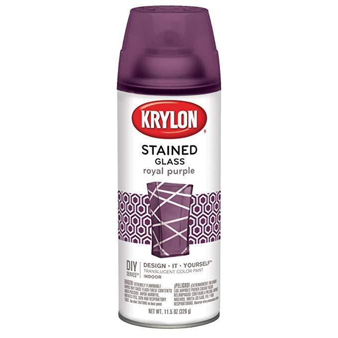 Krylon K09027000 Stained Glass Paint Emw1603968 11 5 Oz Royal