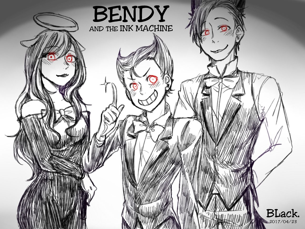 Bendy And The Ink Machine Human Version I Alone It Bendy And