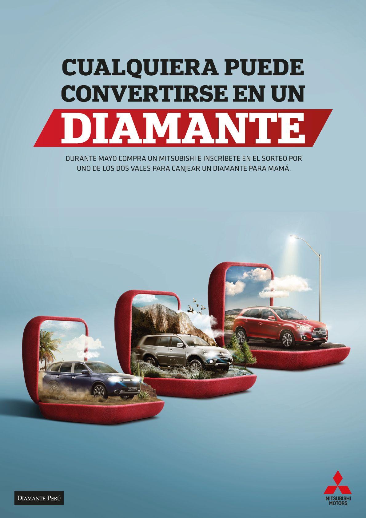 Campaña para el Día de la Madre Mitsubishi Graphic