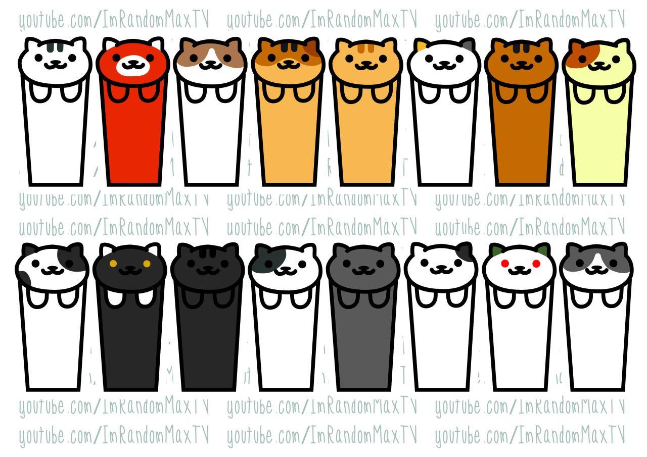 Diy Neko Atsume Cat Bookmarks Templates Neko Atsume Bookmark