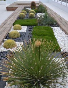 1001 Modeles De Parterre De Fleurs Avec Galets Parterre De Fleurs Amenagement Jardin Cailloux Jardins