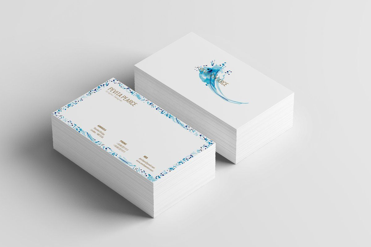 Business card 8 ad sizepaperbleedsvariation