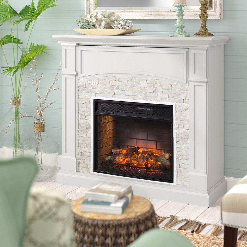 Alcott Hill Contreras Electric Fireplace Reviews Wayfair