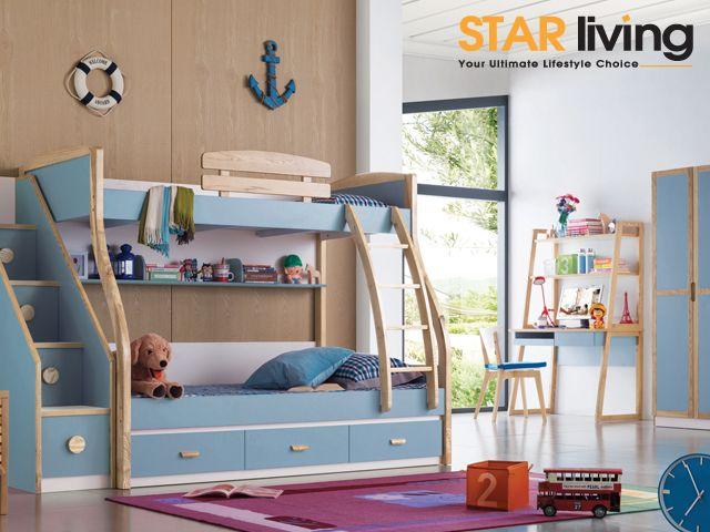Funky Bedrooms: Colorful Kid's Bedroom Furniture   Kids ...