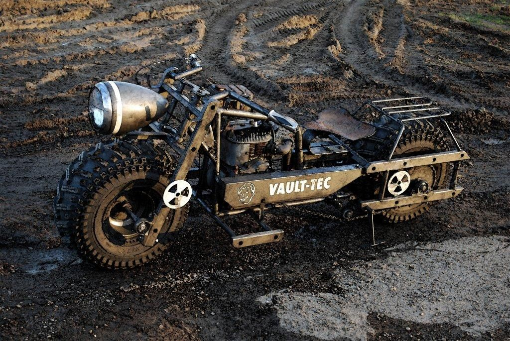 post apocalyptic bike, must have