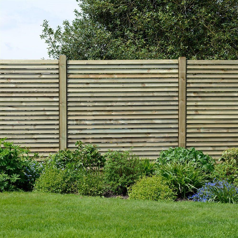 impactful garden wooden fence panels 9