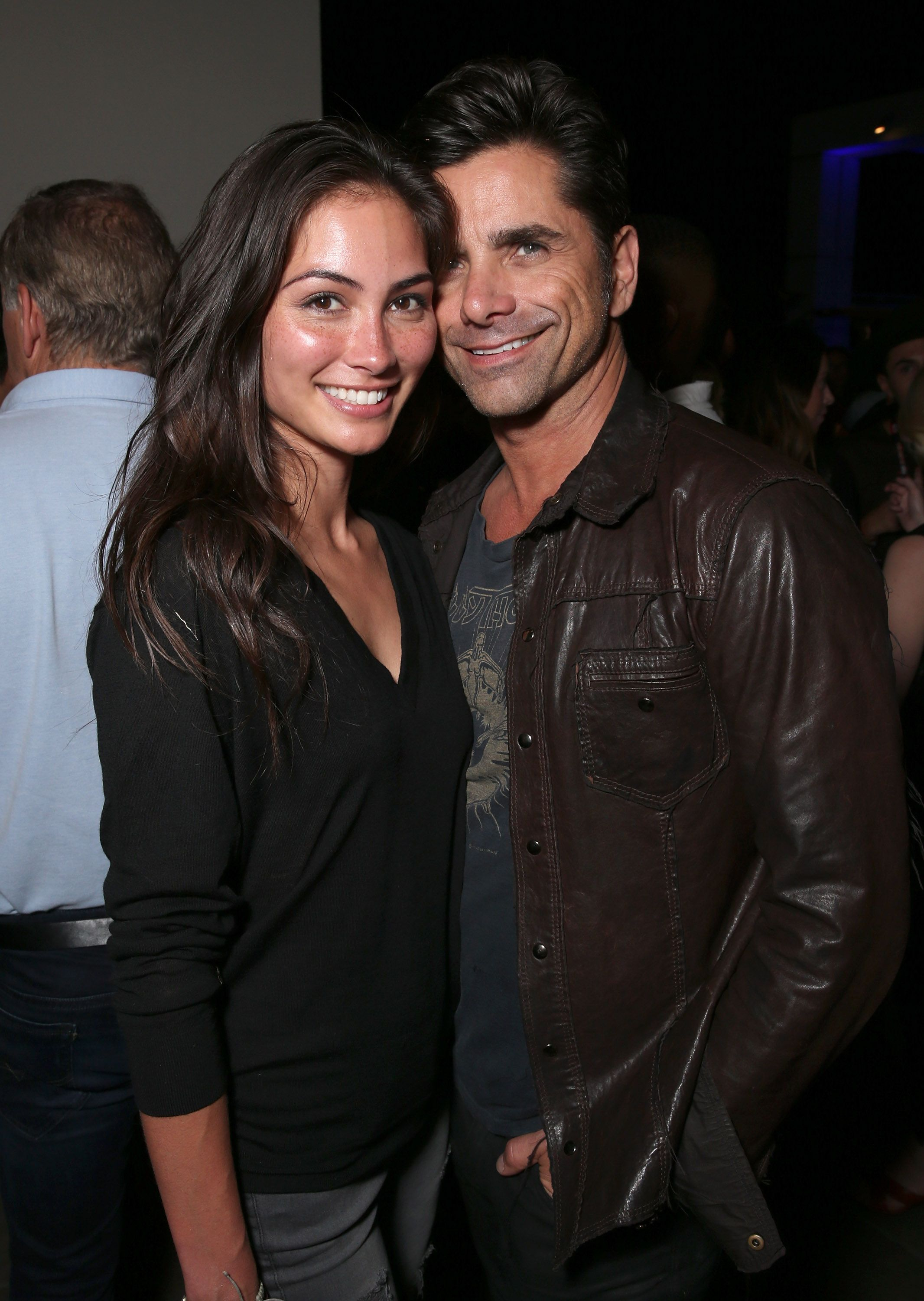 a7c3b725459 John Stamos Makes First Public Appearance With Girlfriend Caitlin ...