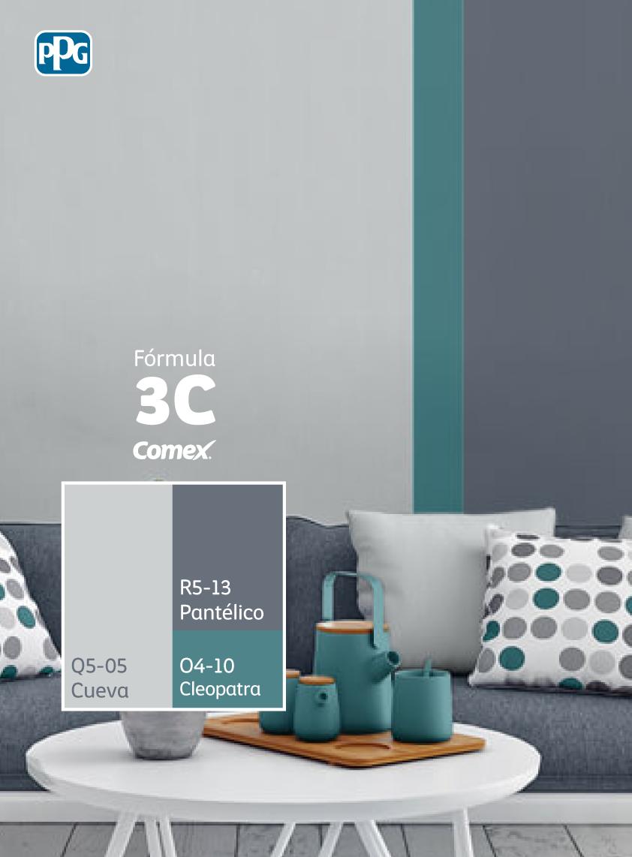 Combina colores y transforma tu espacio cons ltanos por la f rmula3c y descubre una manera Combinacion de colores para paredes exteriores