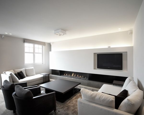 Minimalist Apartment Design  - Decoration Salle Salon Maison
