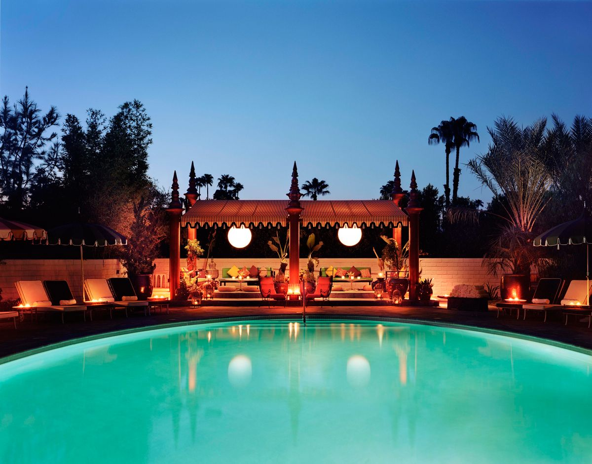 Parker Palm Springs Meltinger Luxury Hotel Find
