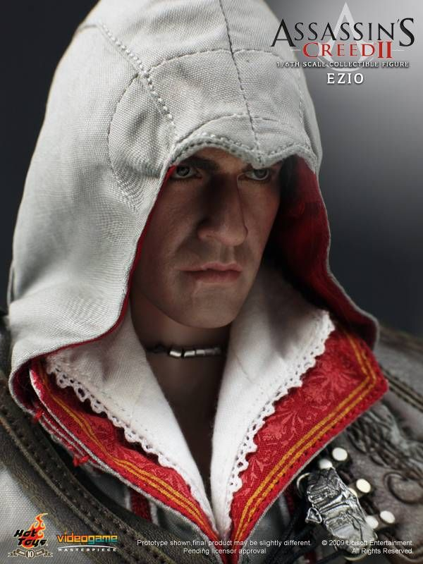 Hot Toys - VGM12 - Assassin's Creed II: 1/6th Scale Ezio Collectible Figure | YouBentMyWookie