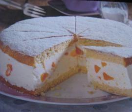 Photo of Käse – Sahne – Torte mit Mandarinen oder Pfirsich