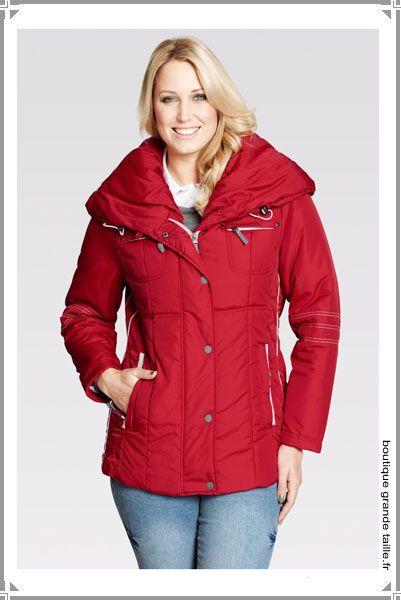 2576b8c5d4f7 Doudoune féminine, look sportswear taille 40 58, collection femme ronde pas  cher.