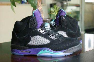 Air Jordan 5 V 3LABS Classical Black Purple Leather ( 68$ )  www.uswantbuymore.com Replica jordans, fake jordans, knockoff jordans,  imitation jordans, ...