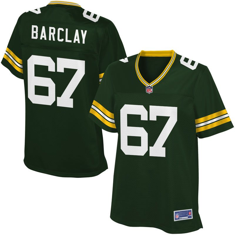 online retailer 90674 eb133 Women's Green Bay Packers Don Barclay NFL Pro Line Team ...