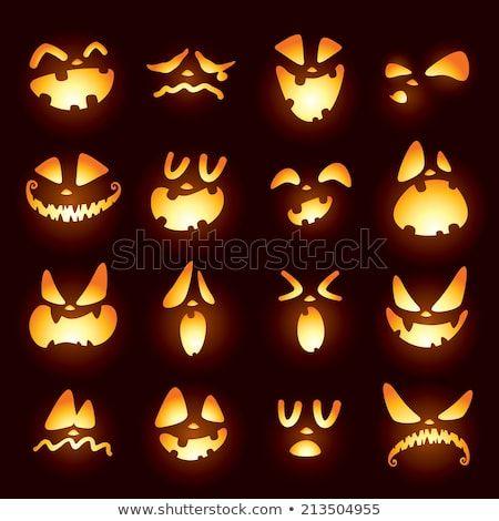 Trouvez des images vectorielles de jack o lantern faces en hd et des millions d autres photos - Citrouille effrayante ...