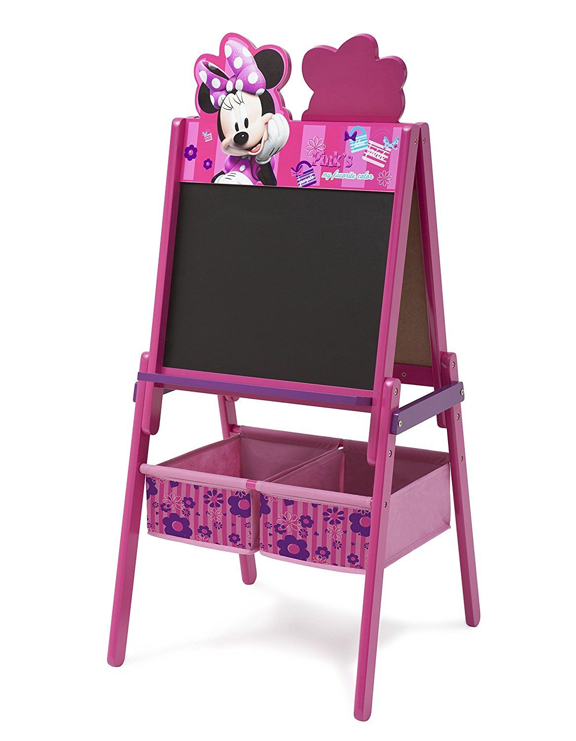 Delta Children Disney Wooden Double Sided Easel With