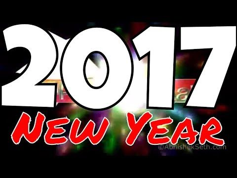 Happy New year 2017 english song | Best of Happy New year wishes ...