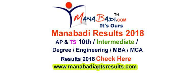 Manabadi Results 2018 :: Manabadi co in Inter/10th/Degree RESULTS