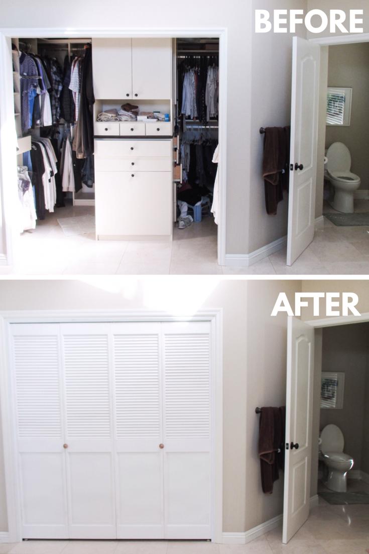 We Install Closet Doors Like These 4 Panel Bi Folding Closet Doors