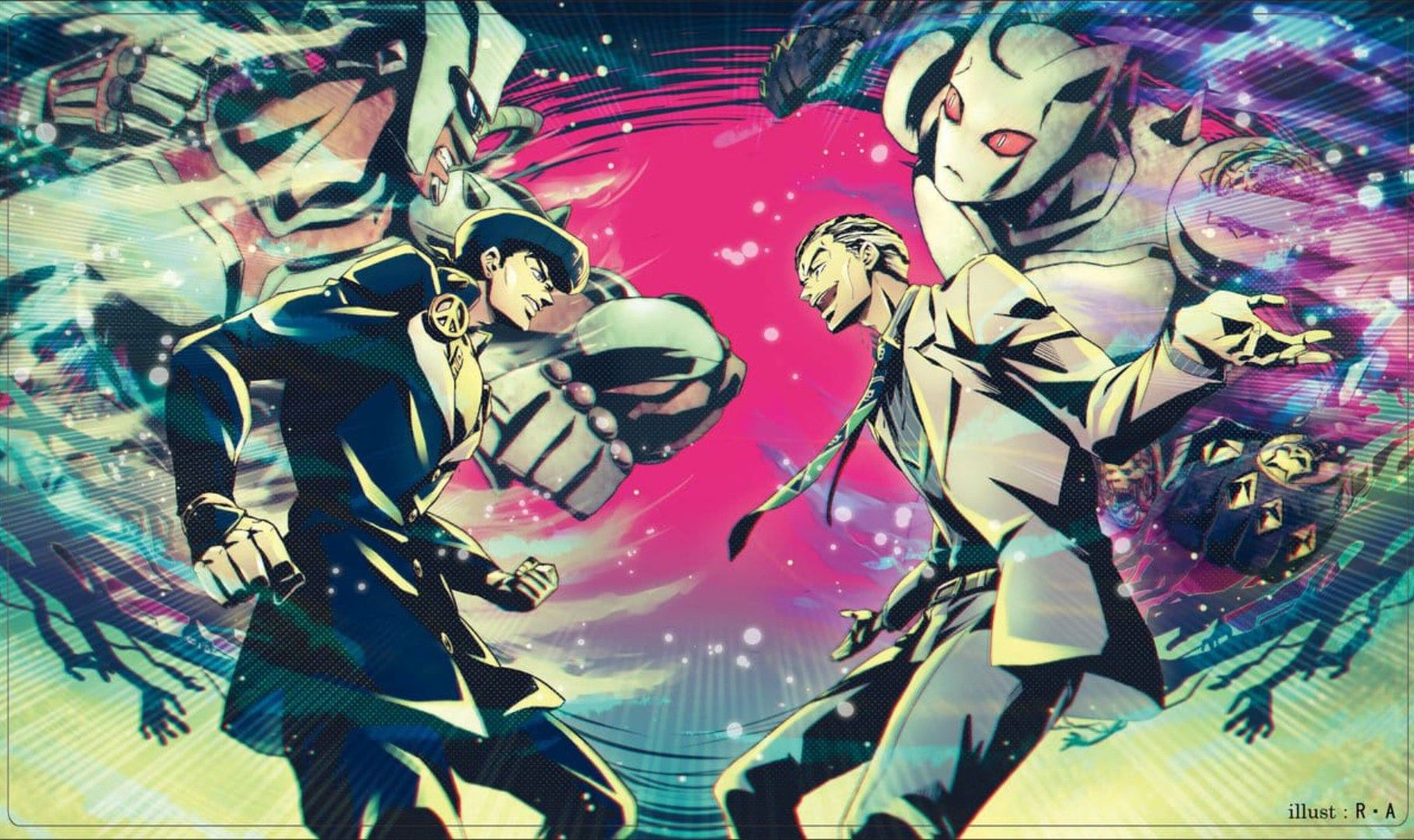 Pin By Chase Rashid On Anime Mangas Jojo S Bizarre Adventure Anime Jojo Bizarre Jojos Bizarre Adventure Jotaro