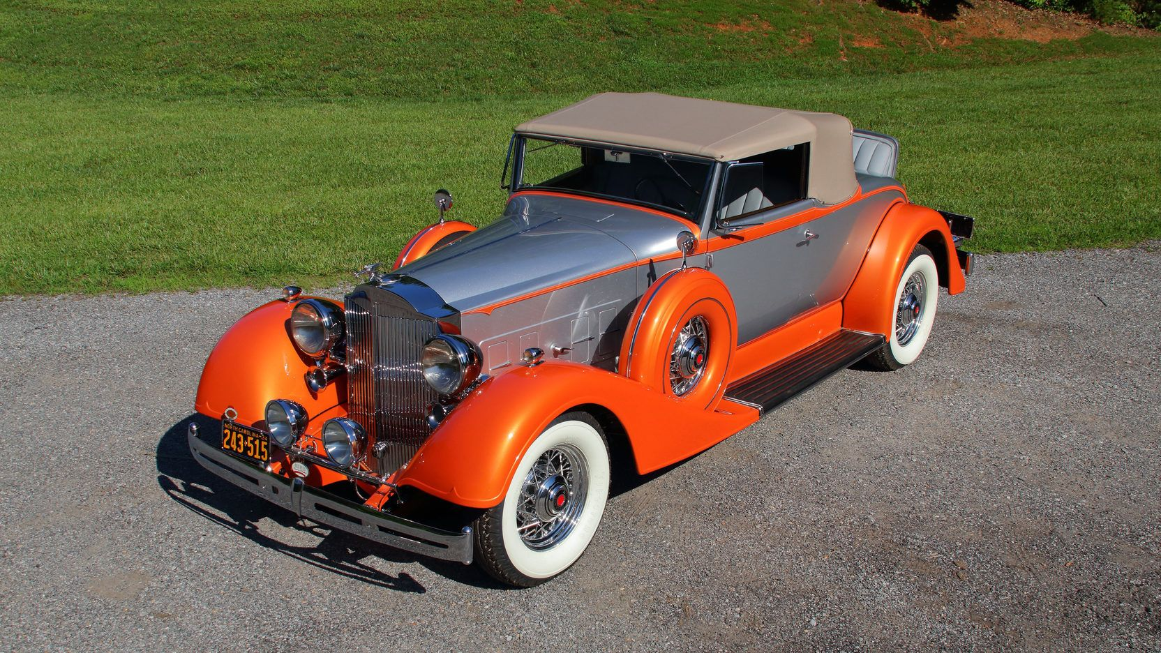 1934 Packard Eight 1101 Coupe Roadster presented as Lot S71 at ...