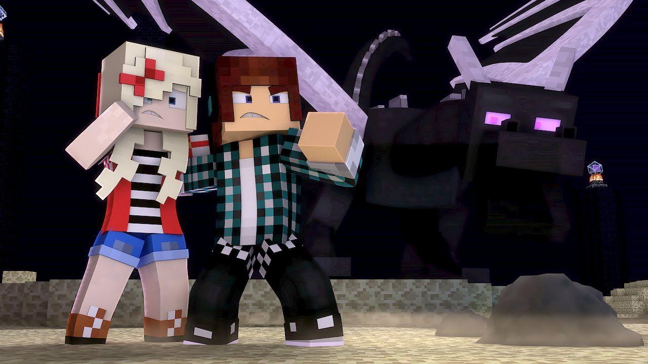 Minecraft Musica Fim Do Jogo Animation Minecraft