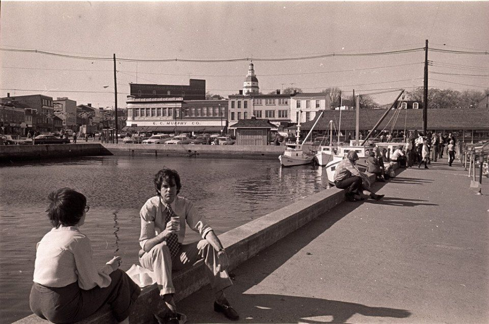 Downtown Annapolis... Can anyone date this for me...