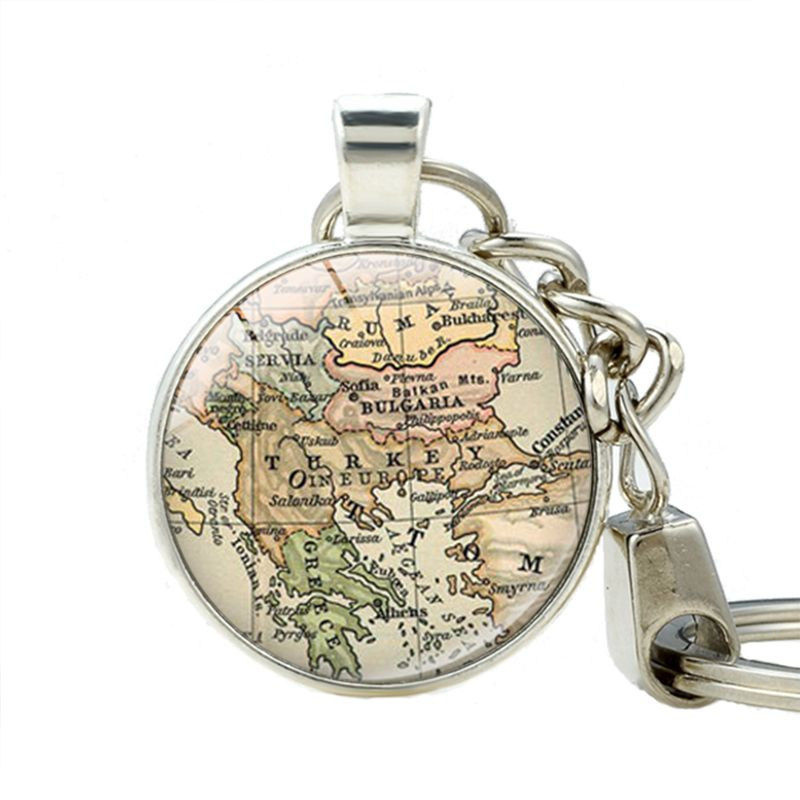 Click to buy turkey map keychains pendant key chain turkey world click to buy turkey map keychains pendant key chain turkey world map gumiabroncs Gallery