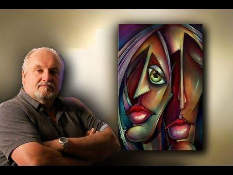 Acrylmalerei acrylic painting Abstrakt 10 / 14 - YouTube
