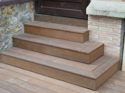 escalier de 3 marches sur mesure maison pinterest patios and coffee. Black Bedroom Furniture Sets. Home Design Ideas