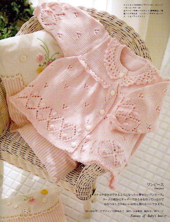 fantasy of babyus knit revista tric para bebs com receitas completas