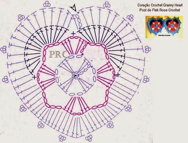 Art: motifs   tejidos   Pinterest   Ganchillo, Haken y Tapetes de ...