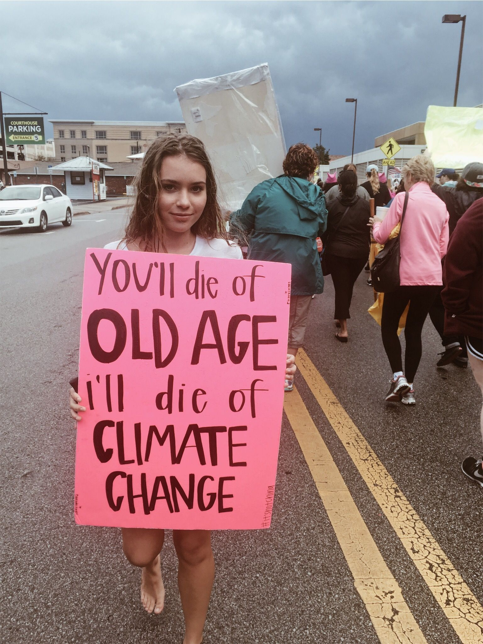 Photo of You'll die of old age – I'll die of climate change