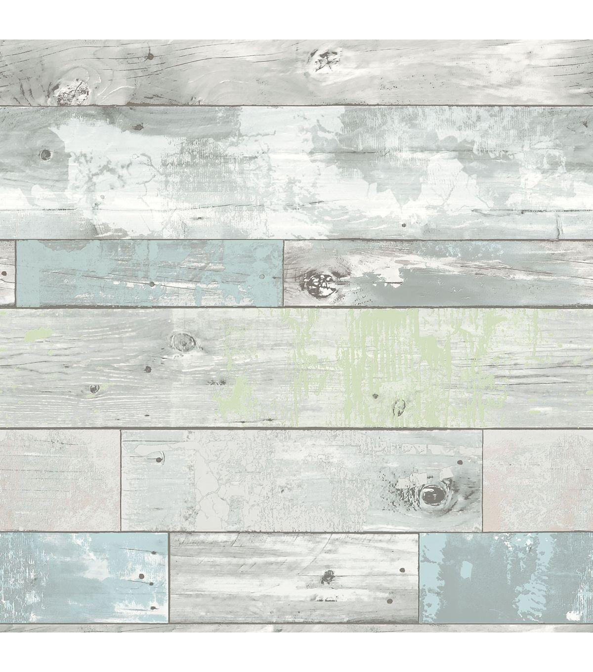 Wallpops nuwallpaper beachwood peel and stick wallpaper for Vinyl wallpaper for walls