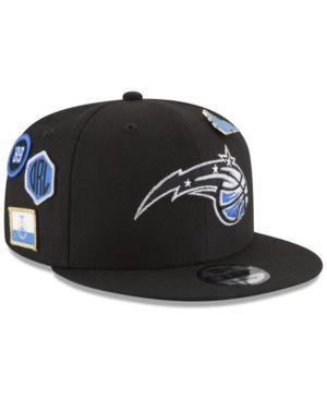 online retailer 7f091 cf9c7 New Era Boys  Orlando Magic On-Court Collection 9FIFTY Snapback Cap - Black  Adjustable