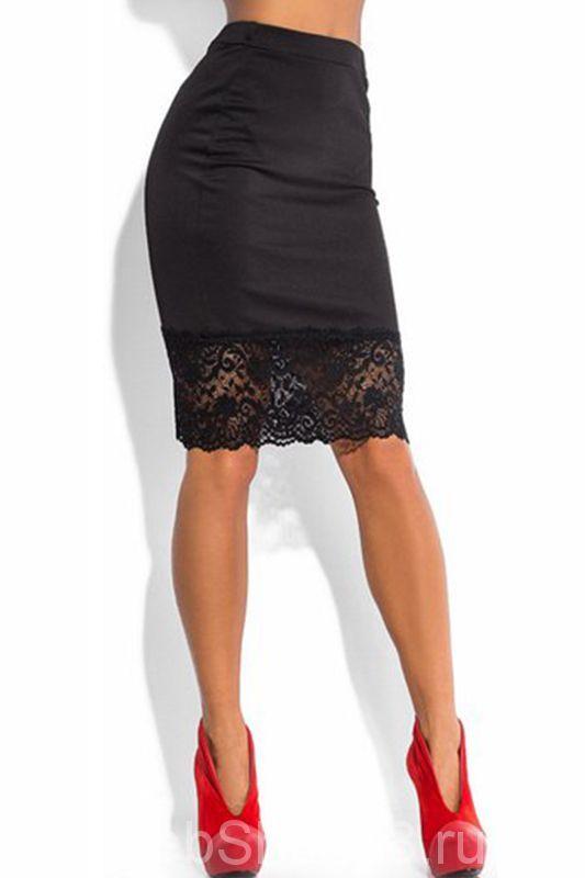 4872aaa1ed66 Черная крутая юбка с кружевом внизу | Одежда вдохновение в 2019 г ...