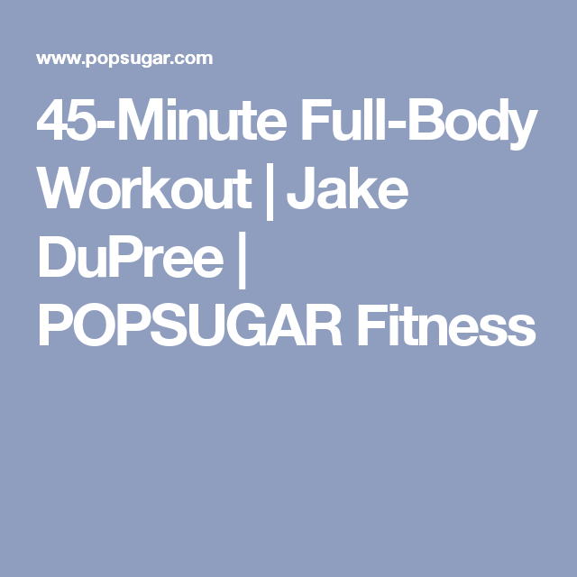 45-Minute Full-Body Workout | Cause Mo said so! | Boxing ...