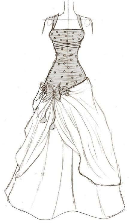 Sketch A Design Your Own Dress Posts Related To Steps In Making Fashion Sketch2