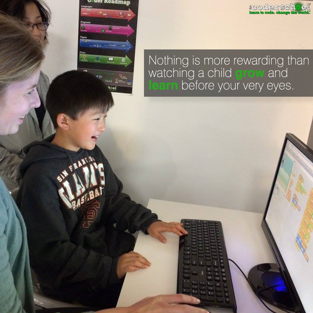 Our Coding Coaches are passionate about sharing the awesomeness that is coding! . . .