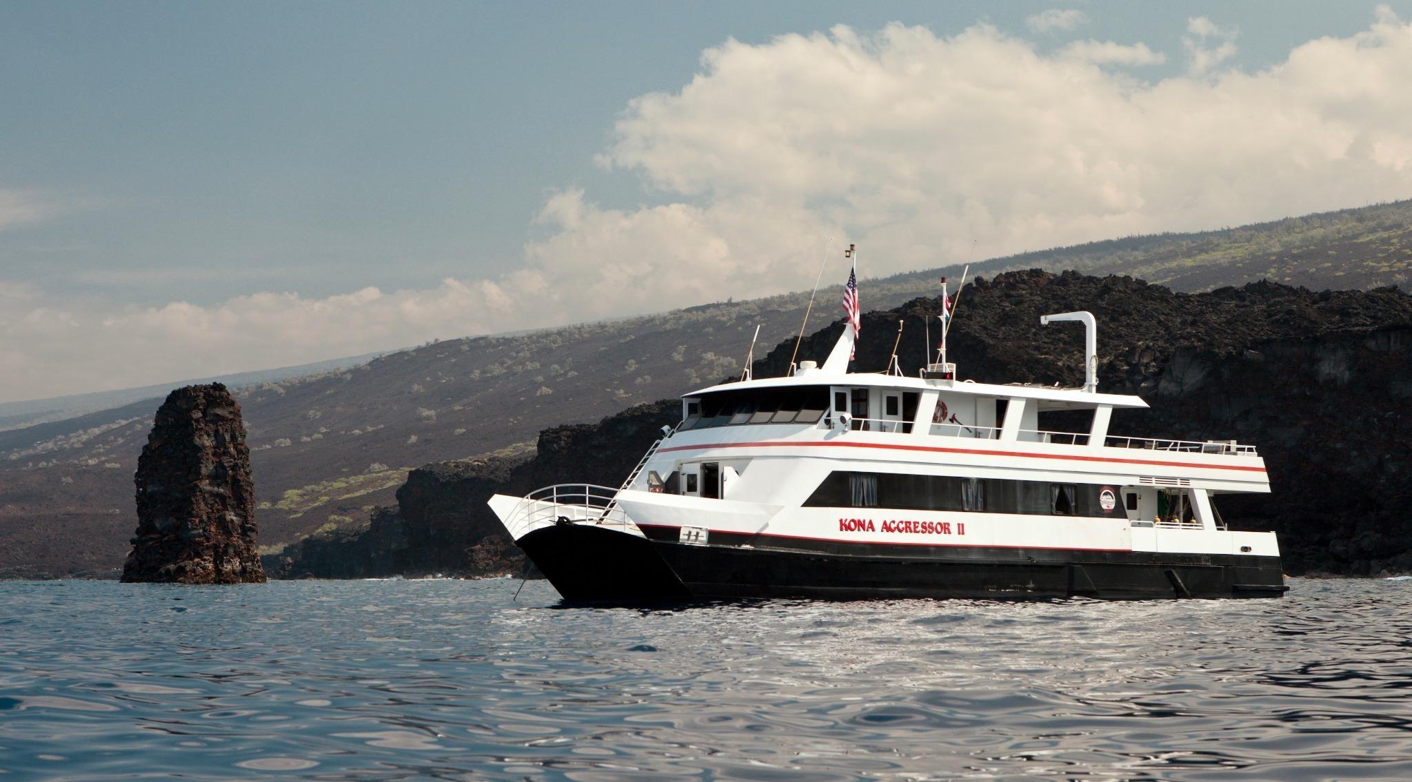 Explore Hawaii, dive Kona Island with Aggressor Fleet