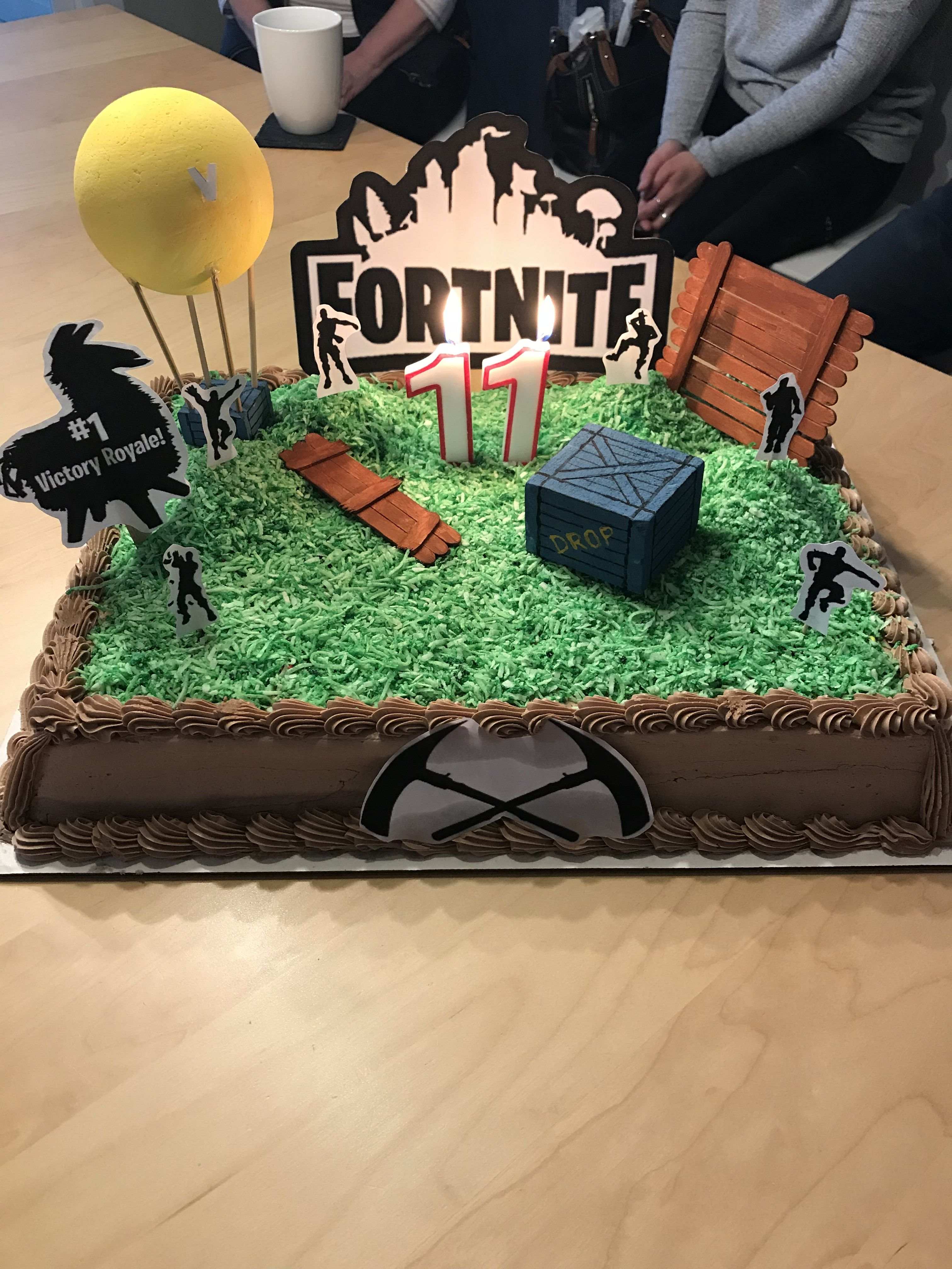 Fortnite Birthday Cake With Images Birthday Party Themes