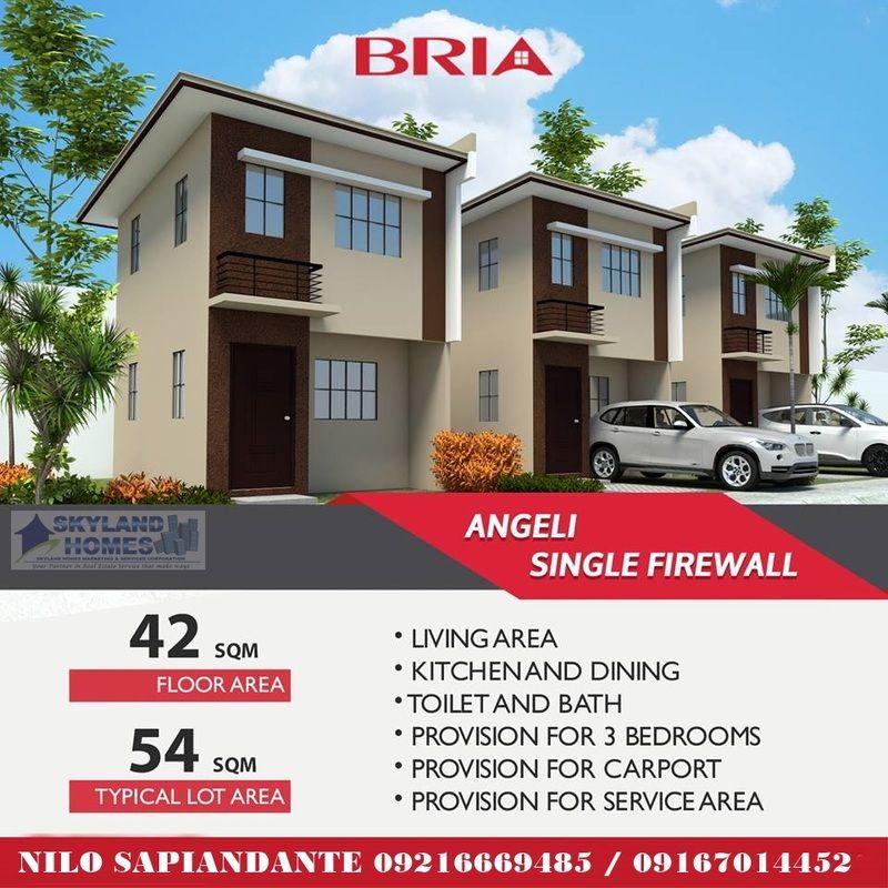 Bria Homes Sta  Maria - Bulacan Real Estate Affordable House