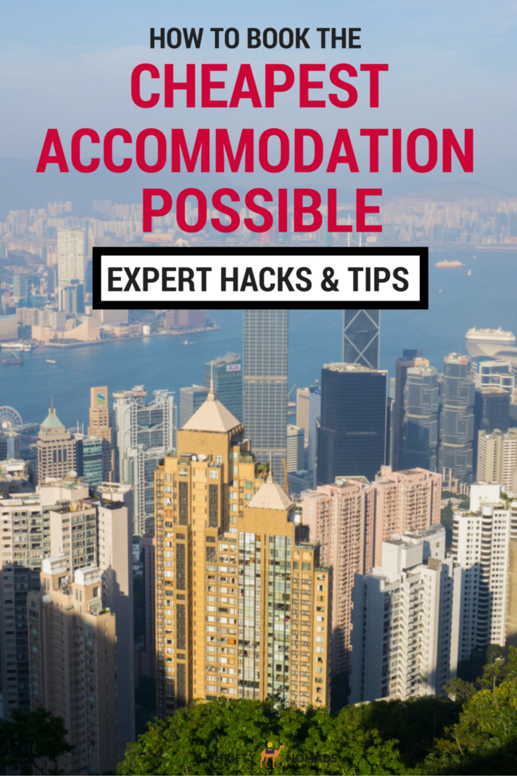 How to Book the Cheapest Hotel Possible via @thriftynomads