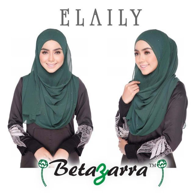 SEMI INSTANT ELAILY by betazarra. meterial : heavy chiffonRetail prize : RM 47WHOLESALE PRIZE 4 for RM 100 only*prize not include postage* ship worldwidedo whatsapp me :  60137097252 (zarra)>> ssm registered <<